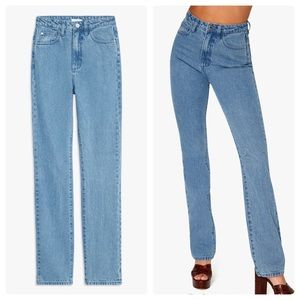 WeWoreWhat NWT The Icon Jean Sz 26